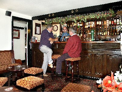 bar customers at the stanley arms