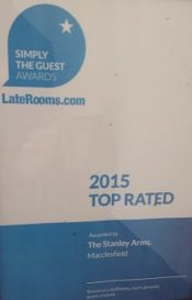 late rooms award certificate 2015