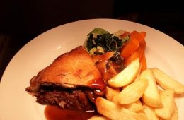steak pie & chips